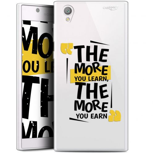 """Coque Gel Sony Xperia L1 (5.5"""") Extra Fine Motif - The More You Learn"""
