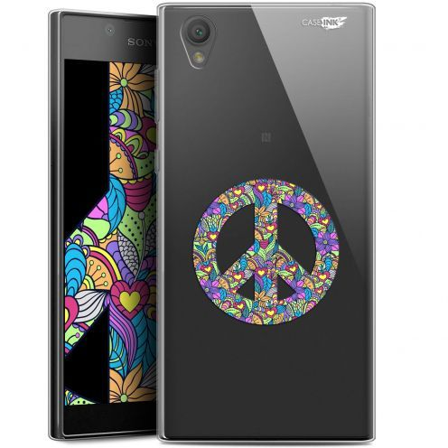 "Coque Gel Sony Xperia L1 (5.5"") Extra Fine Motif - Peace And Love"