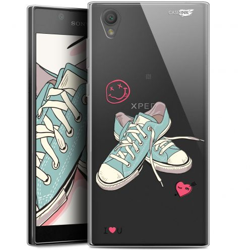 """Coque Gel Sony Xperia L1 (5.5"""") Extra Fine Motif - Mes Sneakers d'Amour"""