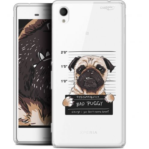 "Coque Gel Sony Xperia M4 Aqua (5"") Extra Fine Motif -  Beware The Puggy Dog"