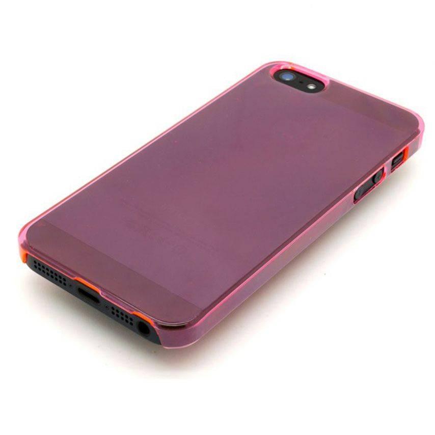 Visuel unique de Coque Crystal iPhone 5 Rose