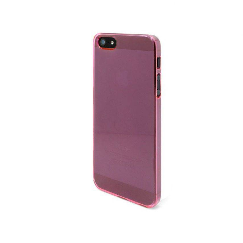 Visuel supplémentaire de Coque Crystal iPhone 5 Rose