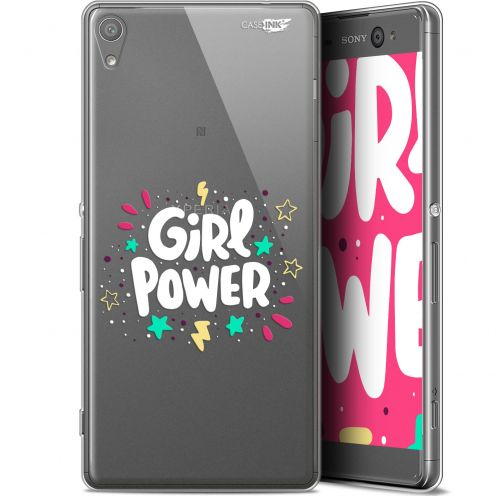 "Coque Gel Sony Xperia XA Ultra (6"") Extra Fine Motif - Girl Power"