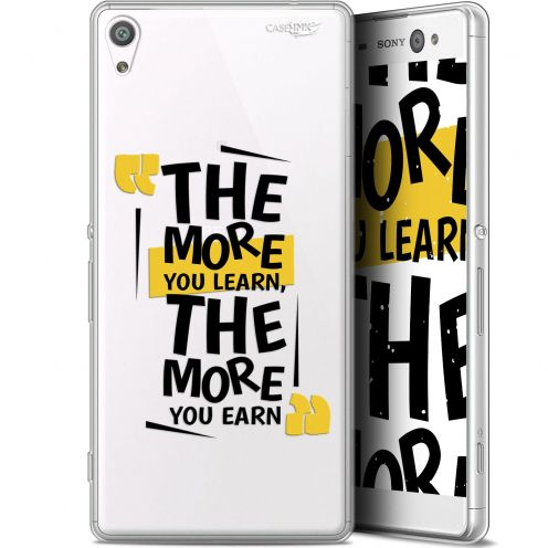 """Coque Gel Sony Xperia XA Ultra (6"""") Extra Fine Motif -  The More You Learn"""