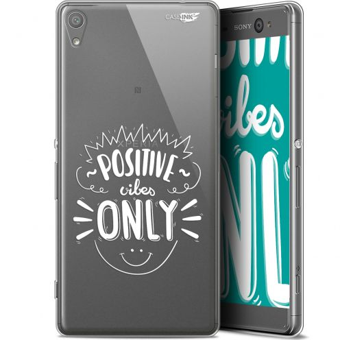 """Coque Gel Sony Xperia XA Ultra (6"""") Extra Fine Motif -  Positive Vibes Only"""