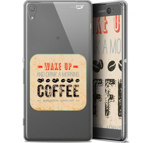 "Coque Gel Sony Xperia XA Ultra (6"") Extra Fine Motif - Wake Up With Coffee"