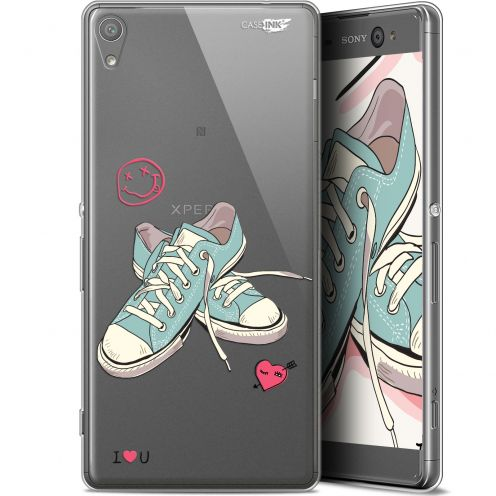 """Coque Gel Sony Xperia XA Ultra (6"""") Extra Fine Motif -  Mes Sneakers d'Amour"""
