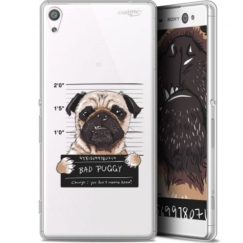 "Coque Gel Sony Xperia XA Ultra (6"") Extra Fine Motif -  Beware The Puggy Dog"