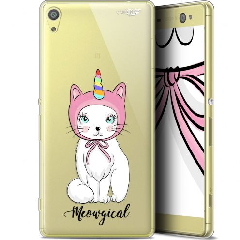 """Coque Gel Sony Xperia XA Ultra (6"""") Extra Fine Motif -  Ce Chat Est MEOUgical"""