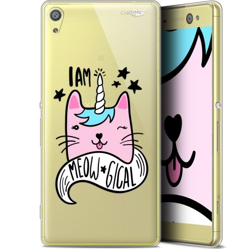 "Coque Gel Sony Xperia XA Ultra (6"") Extra Fine Motif -  I Am MEOUgical"