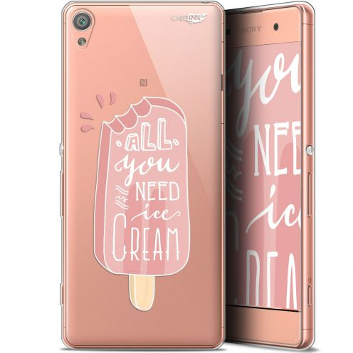 "Coque Gel Sony Xperia XA (5"") Extra Fine Motif - Ice Cream"