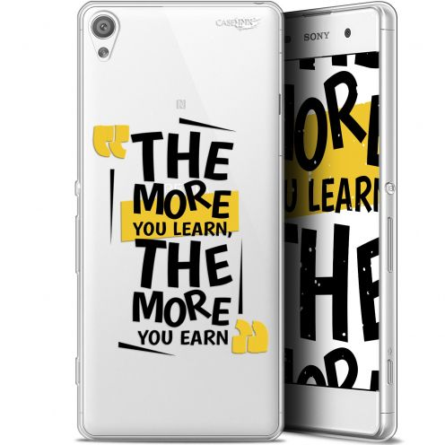 """Coque Gel Sony Xperia XA (5"""") Extra Fine Motif -  The More You Learn"""