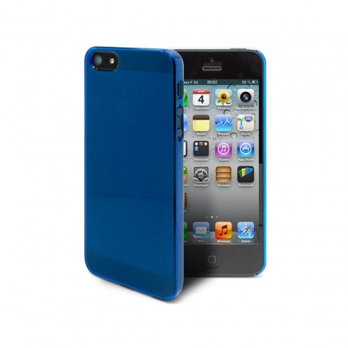 Coque Crystal iPhone 5 / 5S / SE Bleue