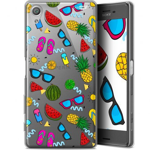 "Coque Gel Sony Xperia X (5"") Extra Fine Motif - Summers"
