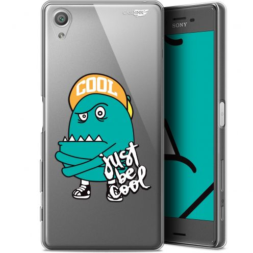 "Coque Gel Sony Xperia X (5"") Extra Fine Motif - Be Cool"