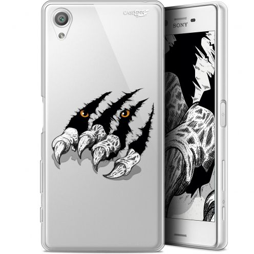 "Coque Gel Sony Xperia X (5"") Extra Fine Motif - Les Griffes"
