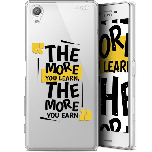 """Coque Gel Sony Xperia X (5"""") Extra Fine Motif -  The More You Learn"""