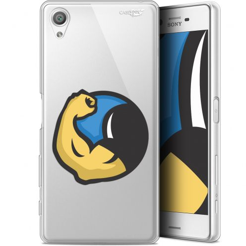 """Coque Gel Sony Xperia X (5"""") Extra Fine Motif -  Monsieur Muscle"""