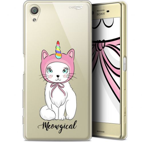 """Coque Gel Sony Xperia X (5"""") Extra Fine Motif -  Ce Chat Est MEOUgical"""