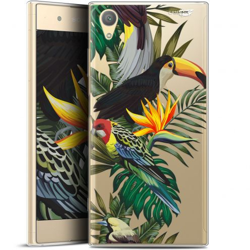 "Coque Gel Sony Xperia XA1 PLUS (5.5"") Extra Fine Motif - Toucan Tropical"
