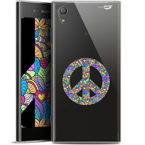 "Coque Gel Sony Xperia XA1 PLUS (5.5"") Extra Fine Motif - Peace And Love"
