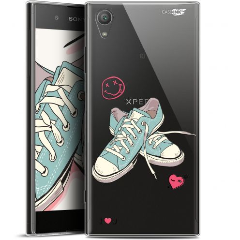 "Coque Gel Sony Xperia XA1 PLUS (5.5"") Extra Fine Motif - Mes Sneakers d'Amour"