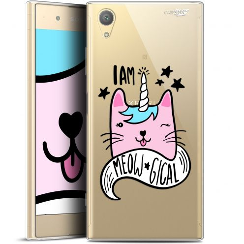 "Coque Gel Sony Xperia XA1 PLUS (5.5"") Extra Fine Motif - I Am MEOUgical"