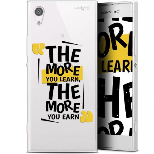 """Coque Gel Sony Xperia XA1 Ultra (6"""") Extra Fine Motif -  The More You Learn"""