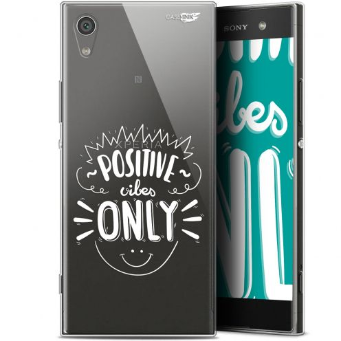 """Coque Gel Sony Xperia XA1 Ultra (6"""") Extra Fine Motif - Positive Vibes Only"""