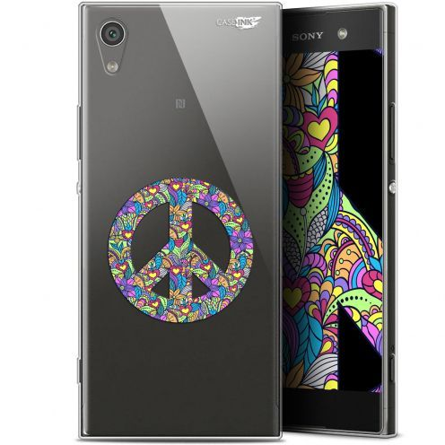 "Coque Gel Sony Xperia XA1 Ultra (6"") Extra Fine Motif - Peace And Love"