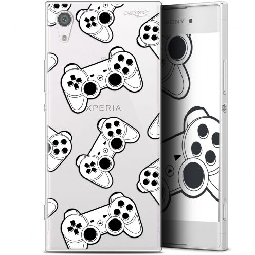 "Coque Gel Sony Xperia XA1 (5"") Extra Fine Motif - Game Play Joysticks"