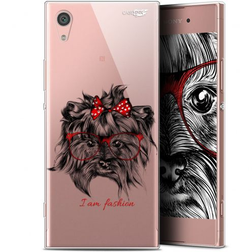 "Coque Gel Sony Xperia XA1 (5"") Extra Fine Motif - Fashion Dog"
