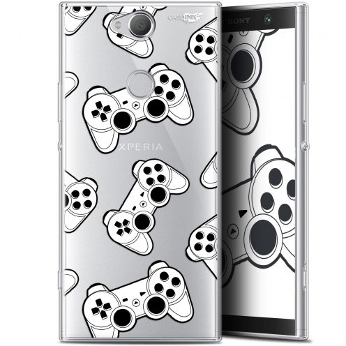 "Coque Gel Sony Xperia XA2 PLUS (6"") Extra Fine Motif -  Game Play Joysticks"