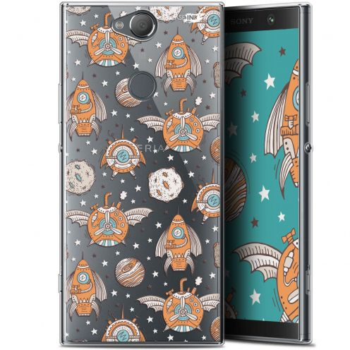 "Coque Gel Sony Xperia XA2 PLUS (6"") Extra Fine Motif -  Punk Space"