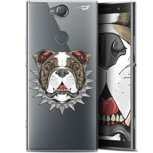 "Coque Gel Sony Xperia XA2 PLUS (6"") Extra Fine Motif -  Doggy"