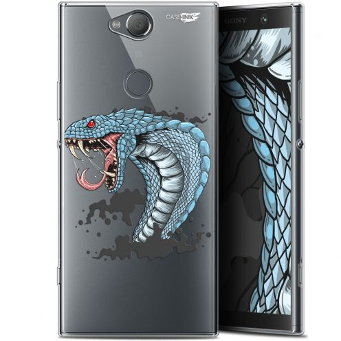"Coque Gel Sony Xperia XA2 PLUS (6"") Extra Fine Motif -  Cobra Draw"