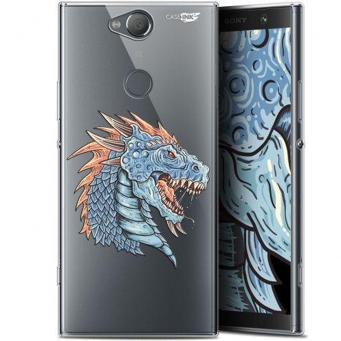 "Coque Gel Sony Xperia XA2 PLUS (6"") Extra Fine Motif -  Dragon Draw"