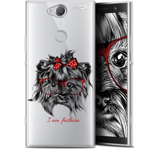 "Coque Gel Sony Xperia XA2 PLUS (6"") Extra Fine Motif -  Fashion Dog"