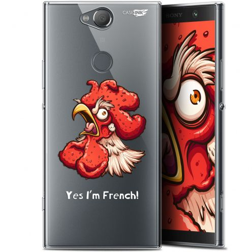 "Coque Gel Sony Xperia XA2 PLUS (6"") Extra Fine Motif -  I'm French Coq"