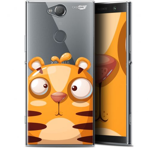 "Coque Gel Sony Xperia XA2 PLUS (6"") Extra Fine Motif -  Cartoon Tiger"
