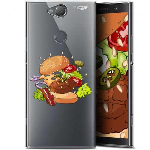 "Coque Gel Sony Xperia XA2 PLUS (6"") Extra Fine Motif -  Splash Burger"