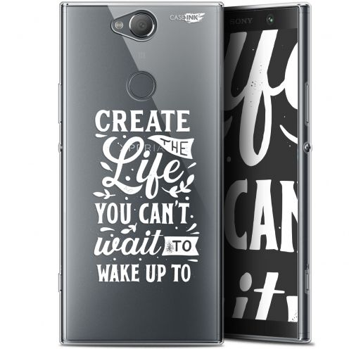 "Coque Gel Sony Xperia XA2 PLUS (6"") Extra Fine Motif -  Wake Up Your Life"