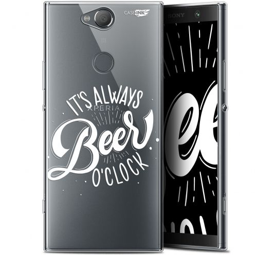 "Coque Gel Sony Xperia XA2 PLUS (6"") Extra Fine Motif -  Its Beer O'Clock"