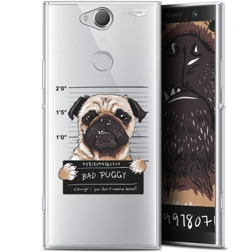 "Coque Gel Sony Xperia XA2 PLUS (6"") Extra Fine Motif -  Beware The Puggy Dog"