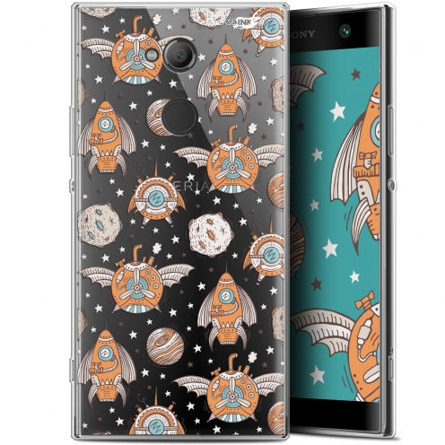 "Coque Gel Sony Xperia XA2 ULTRA (6"") Extra Fine Motif - Punk Space"