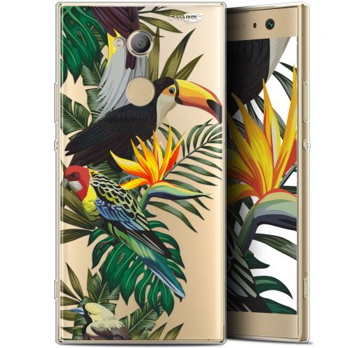 "Coque Gel Sony Xperia XA2 ULTRA (6"") Extra Fine Motif - Toucan Tropical"
