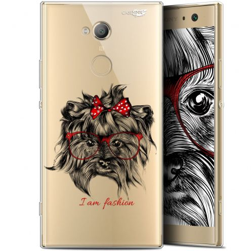 "Coque Gel Sony Xperia XA2 ULTRA (6"") Extra Fine Motif - Fashion Dog"