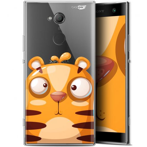 "Coque Gel Sony Xperia XA2 ULTRA (6"") Extra Fine Motif - Cartoon Tiger"