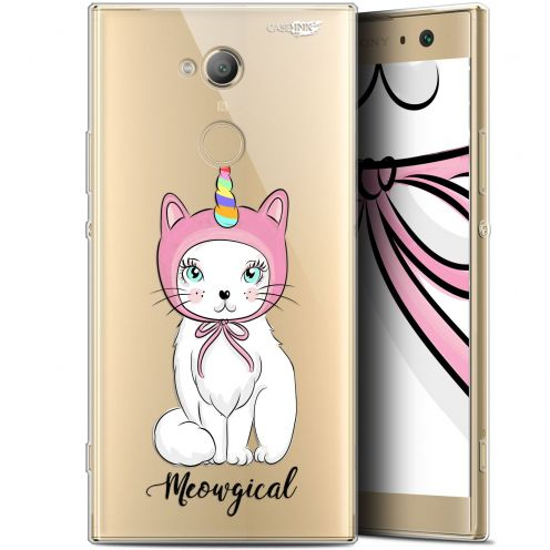 """Coque Gel Sony Xperia XA2 ULTRA (6"""") Extra Fine Motif -  Ce Chat Est MEOUgical"""