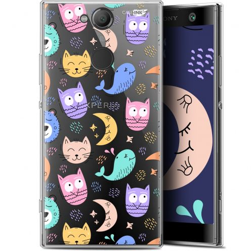 "Coque Gel Sony Xperia XA2 (5.2"") Extra Fine Motif - Chat Hibou"